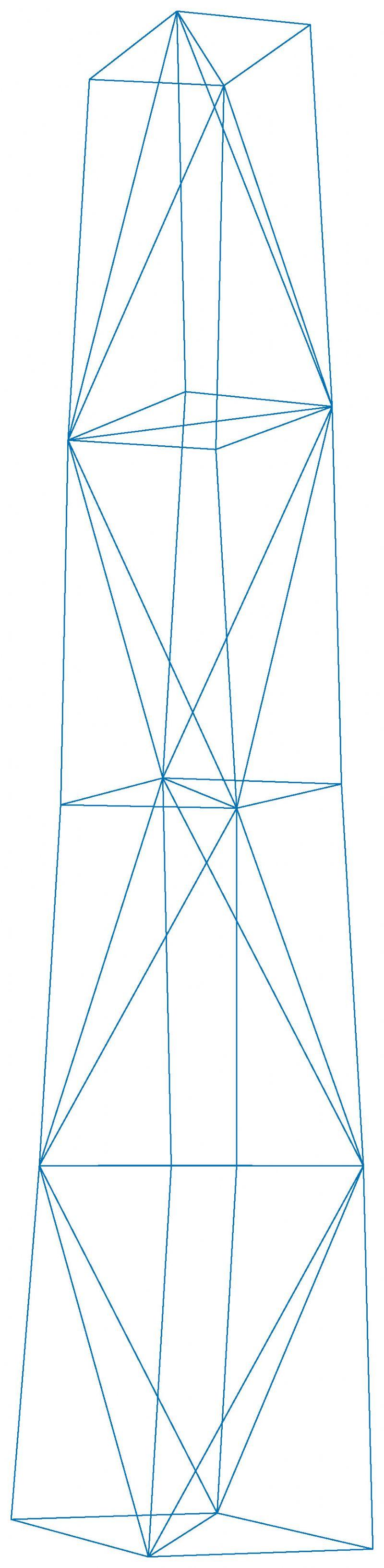 De structuur van de platen.