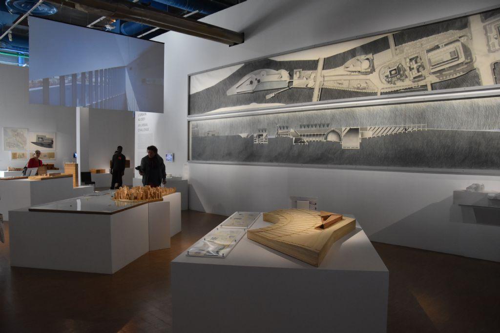 Ando en grote stedelijke projecten. Grote tekening voor project Osaka (1989)