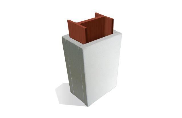 De gipsplaat kan stalen constructies brandwerend beschermen.