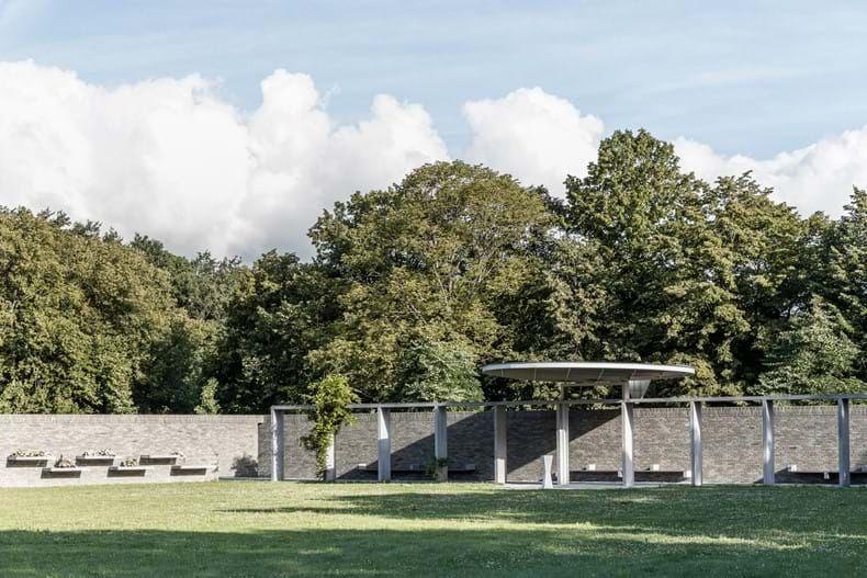 sEptEm gevelsteen vormt een mooi huwelijk met beton in ontwikkeling van nieuw asbestemmingsgebied