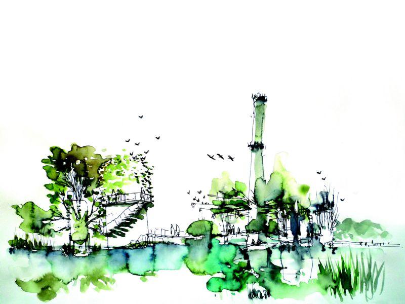 """De """"Golden Award"""" werd toegekend aan een ecologisch saneringsproject aan de zuidkust van Italië. ."""