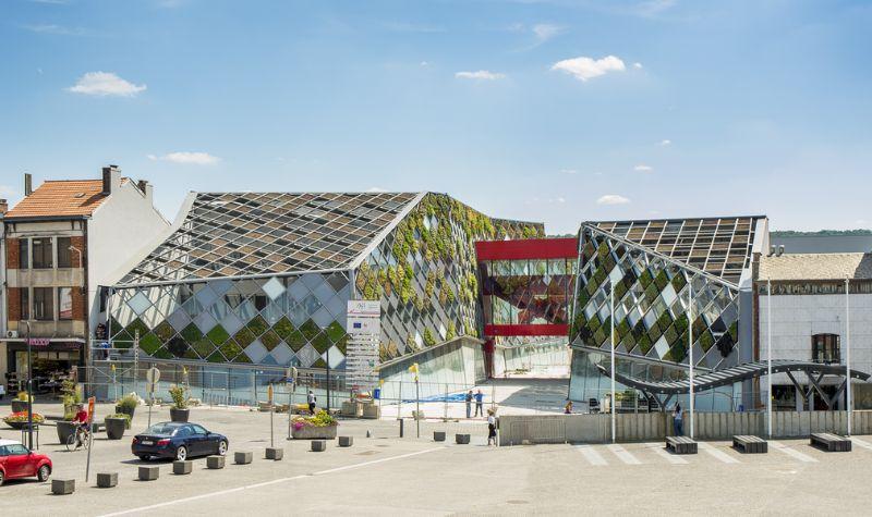 Herstal inaugure son nouvel hôtel de ville (Frédéric Haesevoets Architecture)