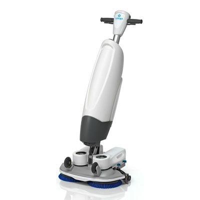 Compact en wendbaar: de schrobzuigmachine i-mop van Boma.
