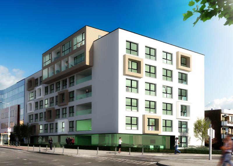 DSW architects reconvertit un immeuble de bureaux en kots de luxe