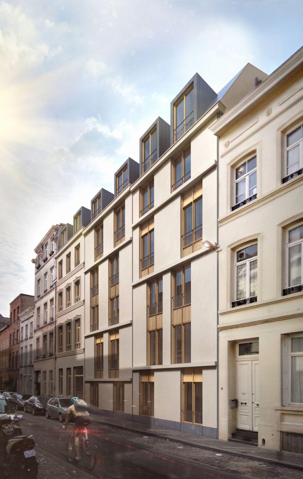 Brussels Greenbizz, projet mixte logements-bureaux respectueux de l'environnement