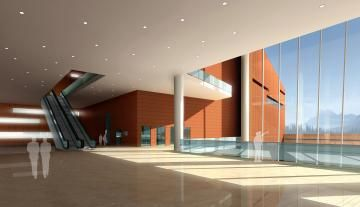 Congresscentrum in Guangzhou, China, door BURO II (WAF Award 2008).