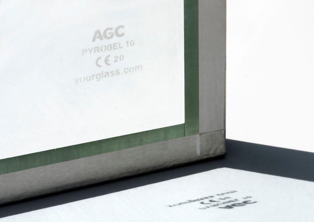 AGC double la période de garantie à 10 ans pour les verres résistants au feu Pyrobel et Pyrobelite