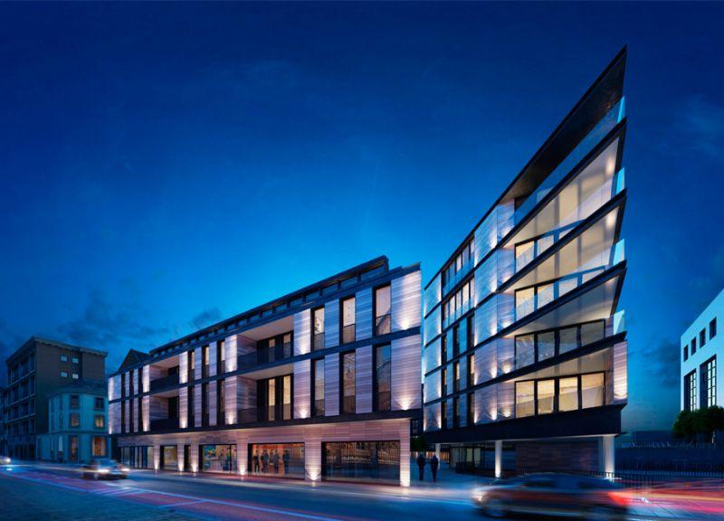 Vesalius Leuven combineert studentenkamers, appartementen en commerciële panden
