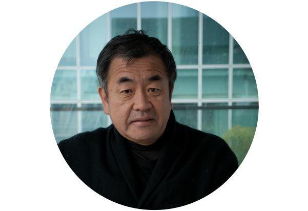 Japanse architect Kengo Kuma.