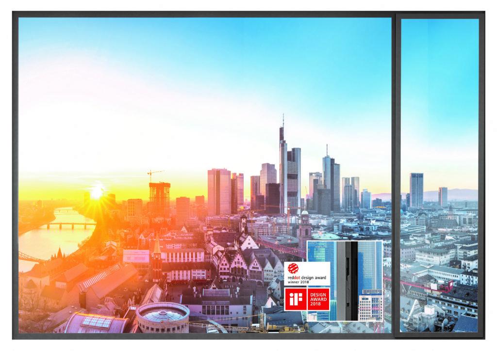 WICONA lanceert raam uit post-consumed aluminium