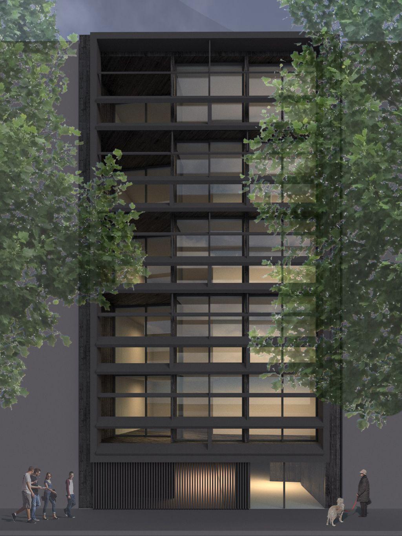 Historisch PMS-pand vlakbij Leieboorden in Kortrijk krijgt nieuwe bestemming (Govaert & Vanhoutte Architects)