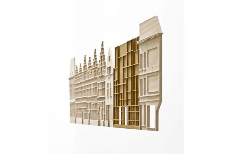 noAarchitecten: museum Plantin Moretus.