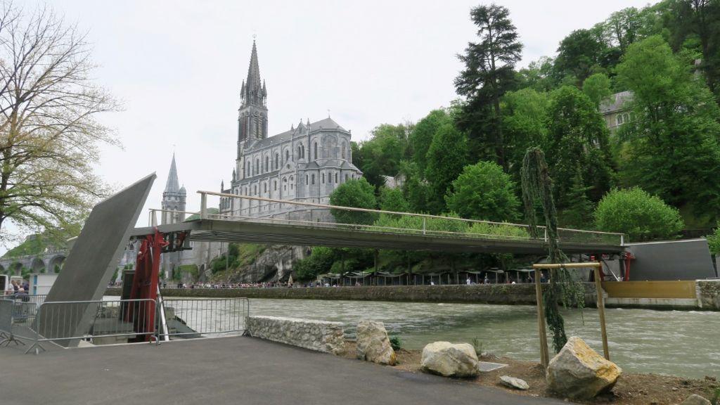 Speciale prijs van de jury: Mobiele passerelle in Lourdes (FR).
