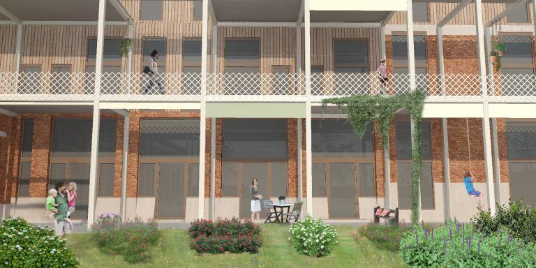 Groot Mechels cohousingproject op oude schoolsite