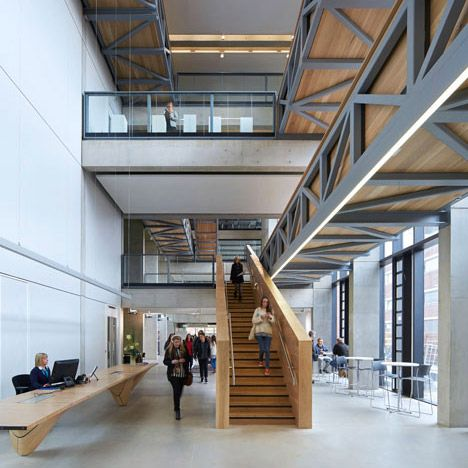 De Manchester School of Art door Feilden Clegg Bradley Studios