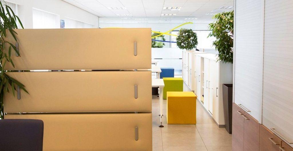 Akoestische oplossingen voor coworkingspaces