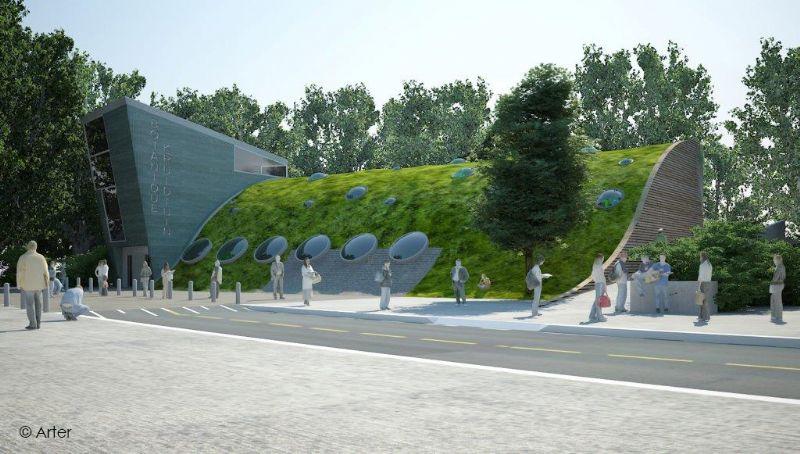 Arter ontwerpt nieuw passief Hoveniersgebouw Brussel