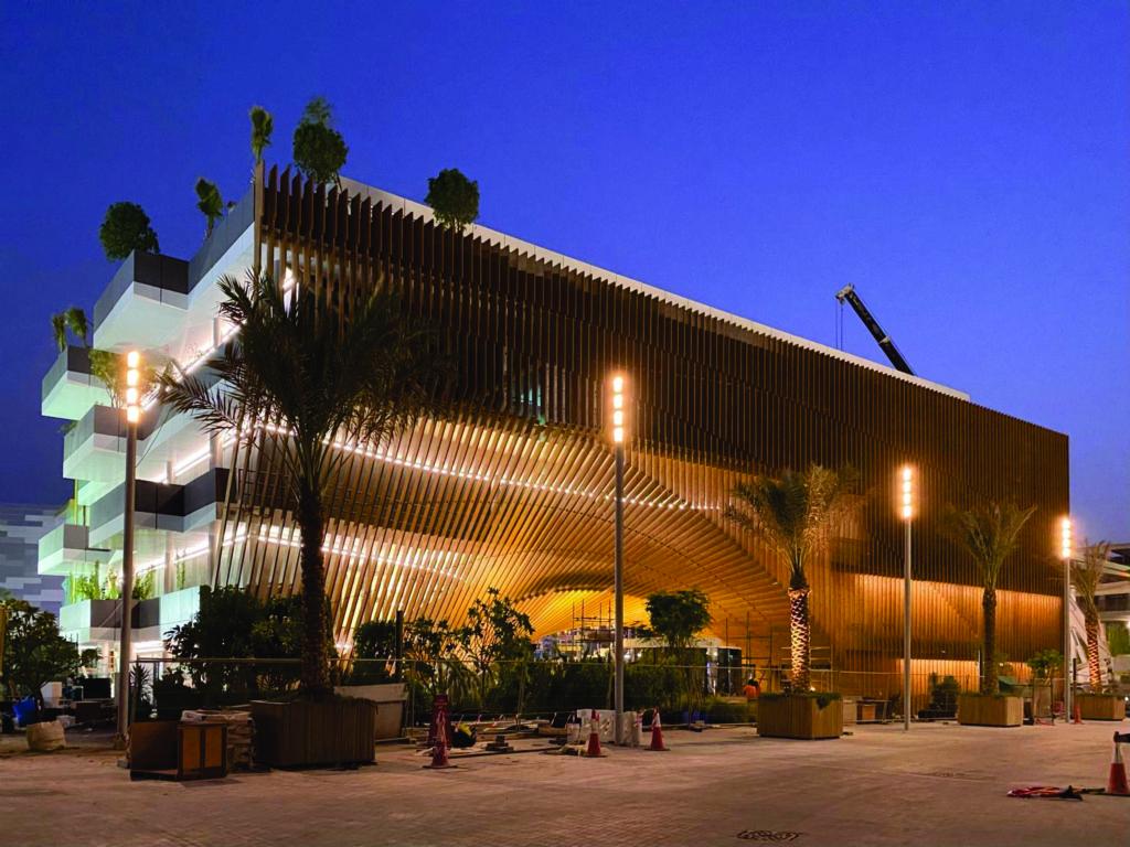Belgisch paviljoen van Vincent Callebaut en Assar Architects klaar voor wereldexpo in Dubai