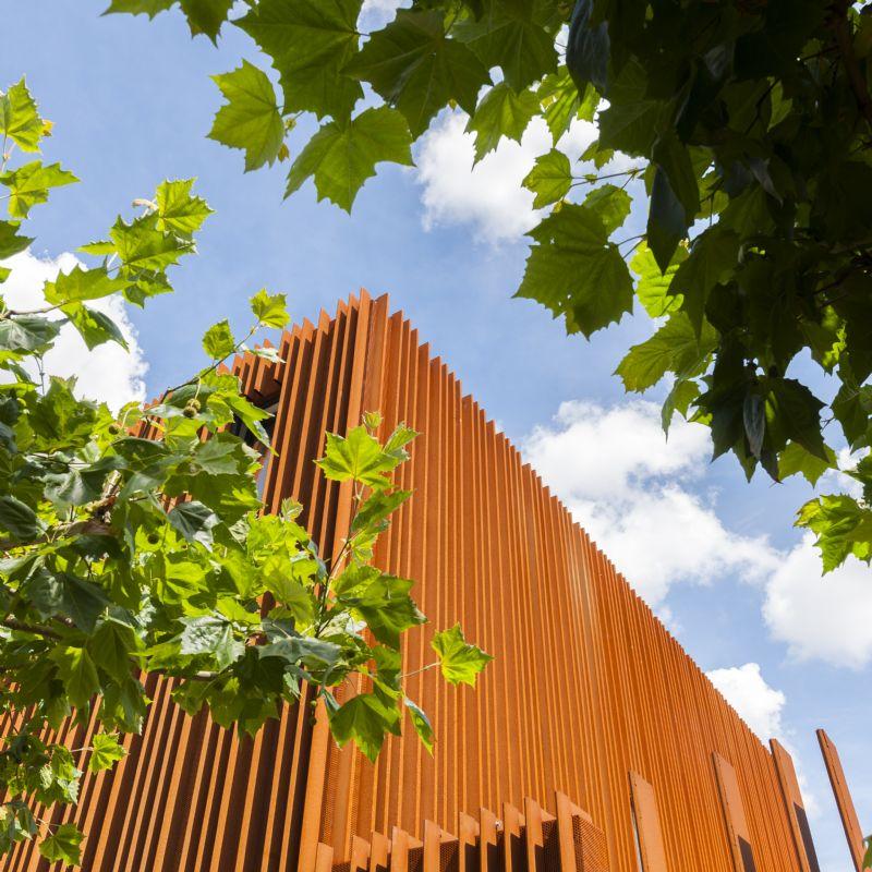 The Corten House – Cortenstaal als rode draad