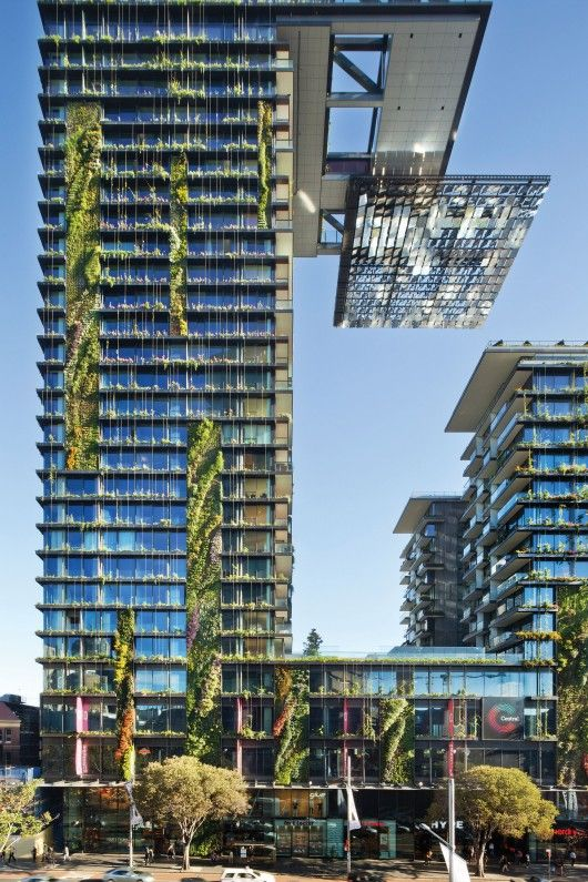 The Overall Winner: One Central Park; Sydney, Australië / Ateliers Jean Nouvel en PTW Architects