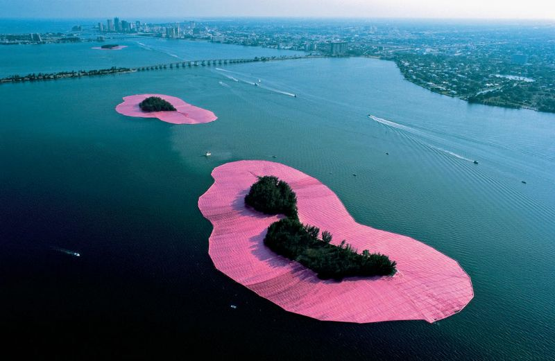 Surrounded Islands van Christo