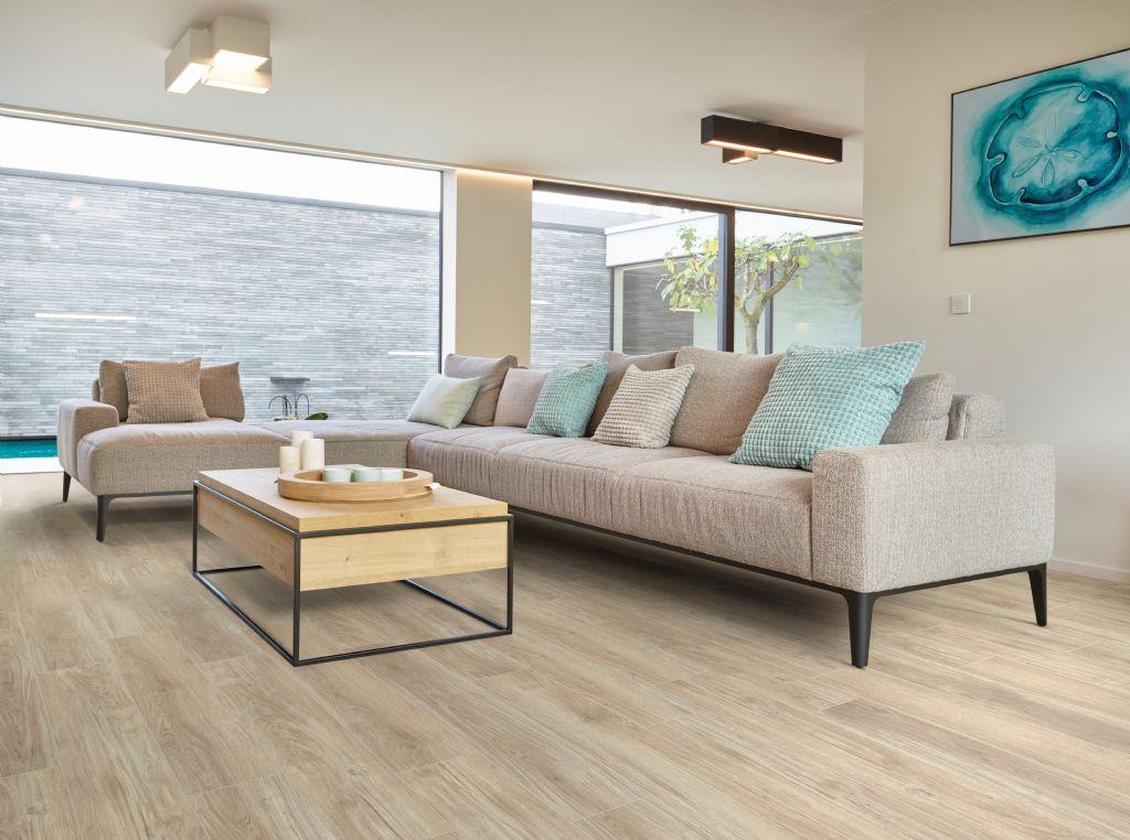Moderne en landelijke vloeren voor in de woonkamer