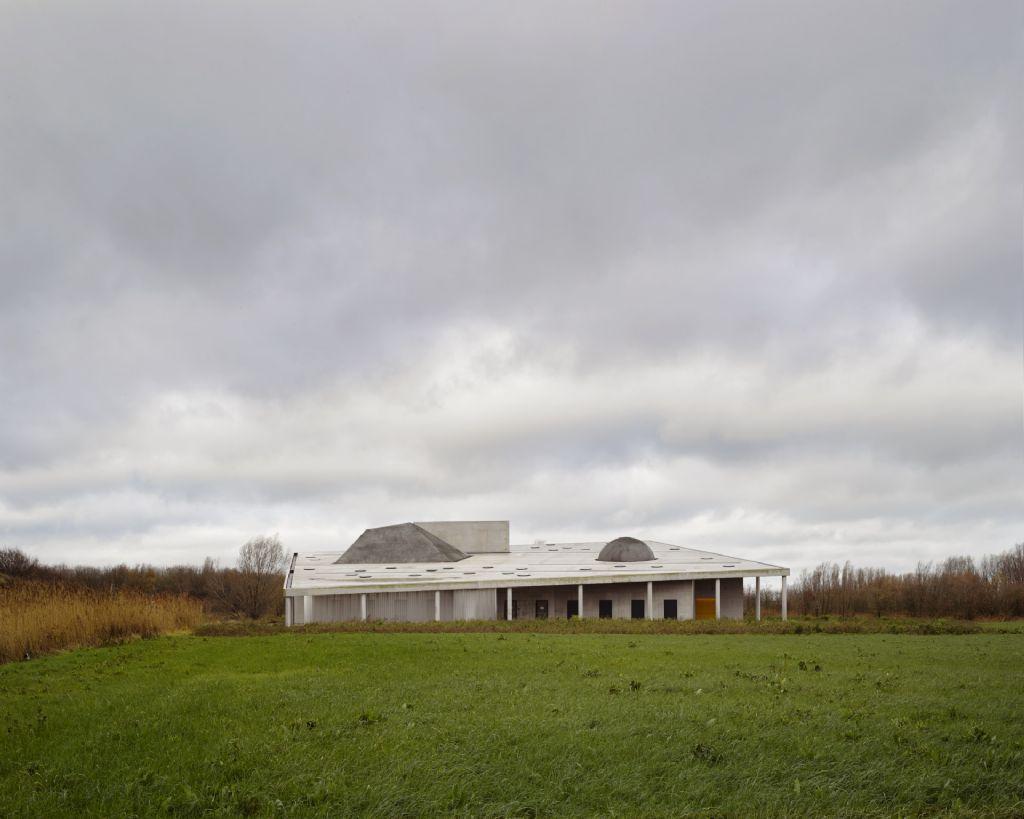 Crematorium, Oostende: OFFICE Kersten Geers David Van Severen
