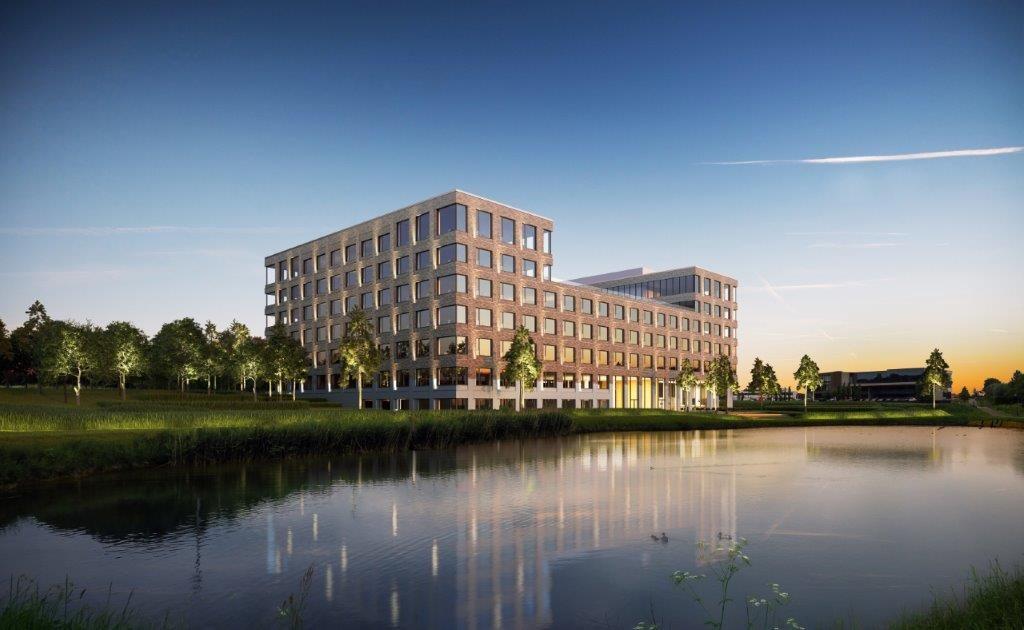 Nieuwe blikvanger (POLO Architects) huisvest vooruitstrevende werkomgeving