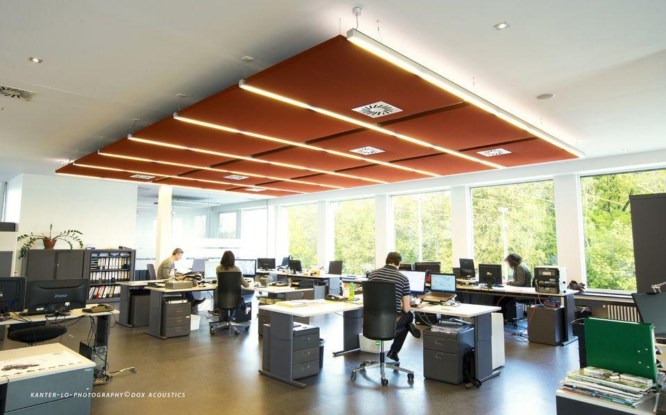 Quelles solutions acoustiques pour espaces de travail ouverts