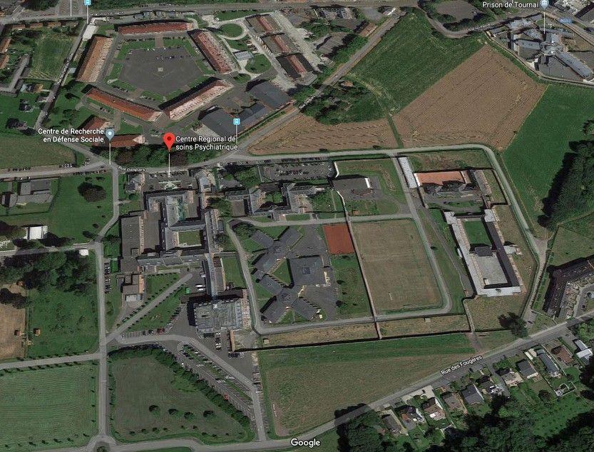Avis de marché: Hôpital Psychiatrique Sécurisé Les Marronniers (Tournai)