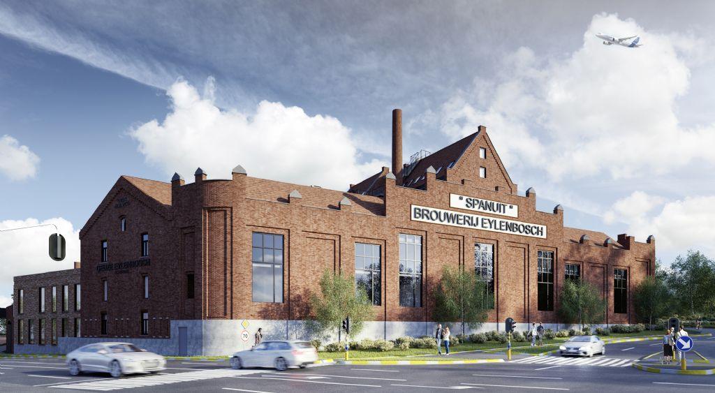 OSK-AR tovert iconische brouwerij om tot woon- en winkelcomplex