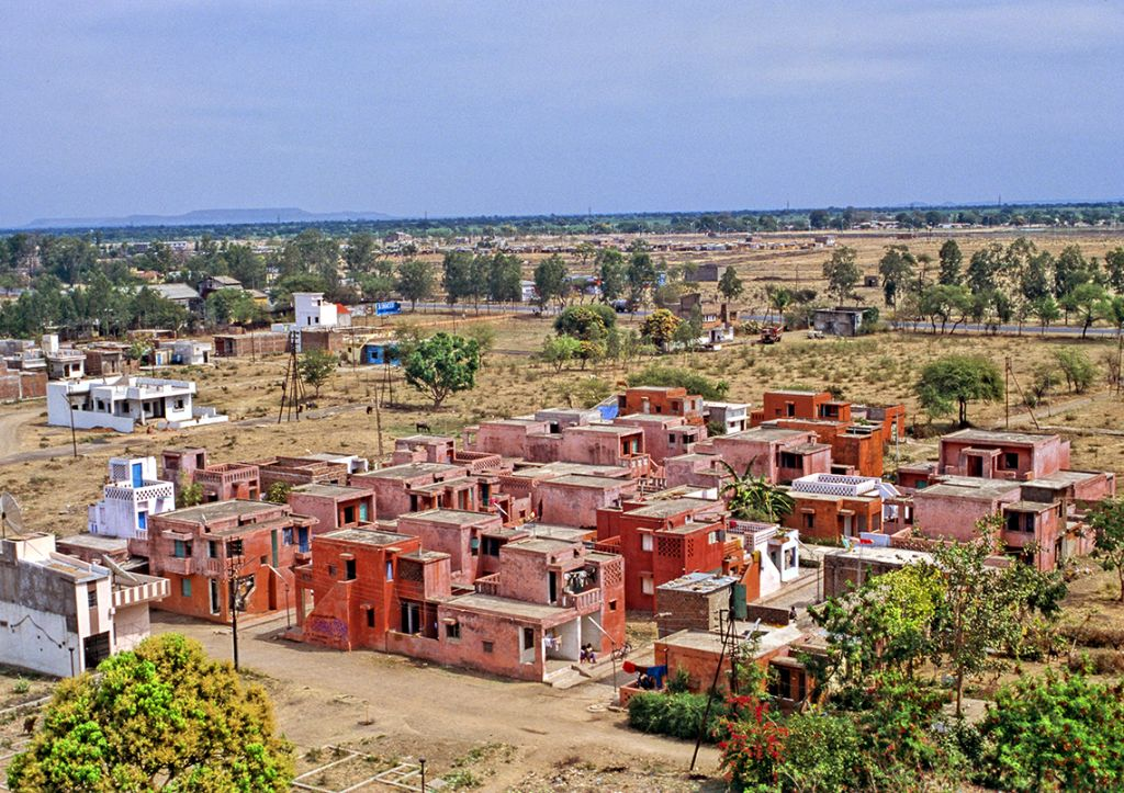 Aranya Low Cost Housing 1989 Indore, India