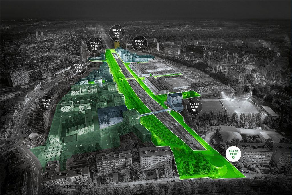 Oproep aan ontwerpers: Josaphat, de nieuwe groene wijk voor Brussel