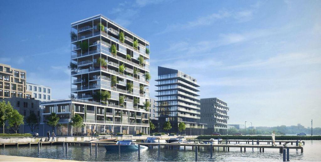 Projets Open Building dans le quartier Buiksloterham, Amsterdam