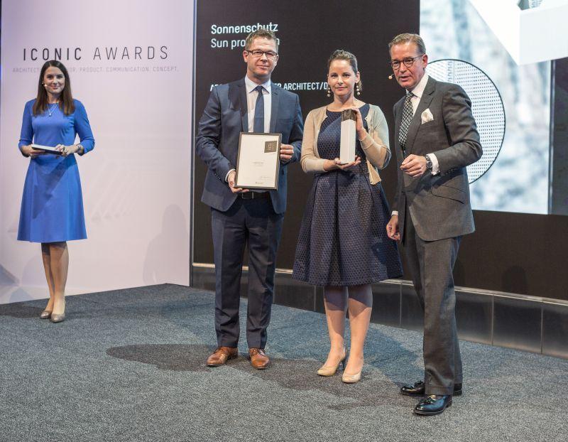 'Iconic Award' pour le store de protection solaire Panovista Max de Renson