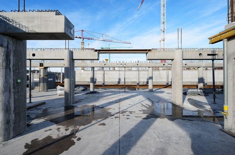 Precast in Structures: Ziekenhuiscomplex CHC Luik