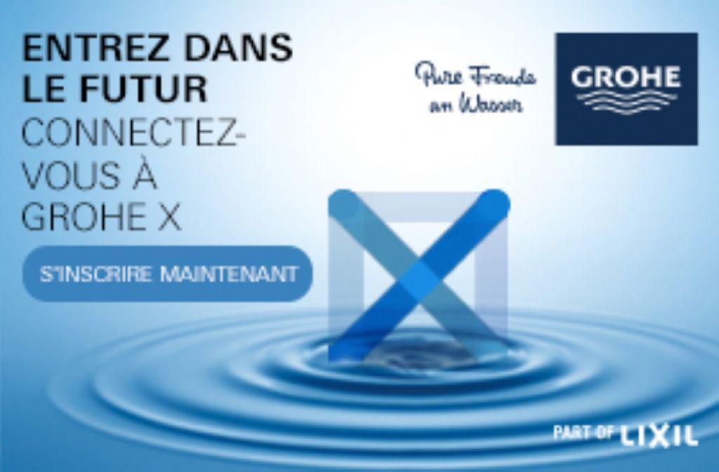 GROHE (LIXIL) lance la plateforme d'expérience digitale GROHE X