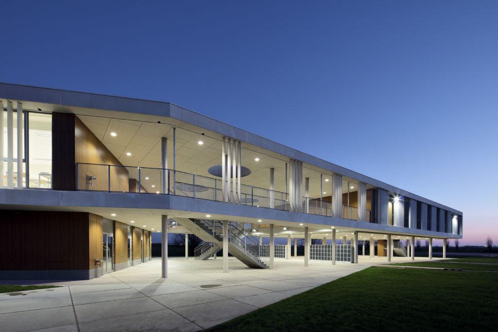 Comfortabel binnenklimaat zorgt voor alerte leerlingen in KA Pegasus, Oostende