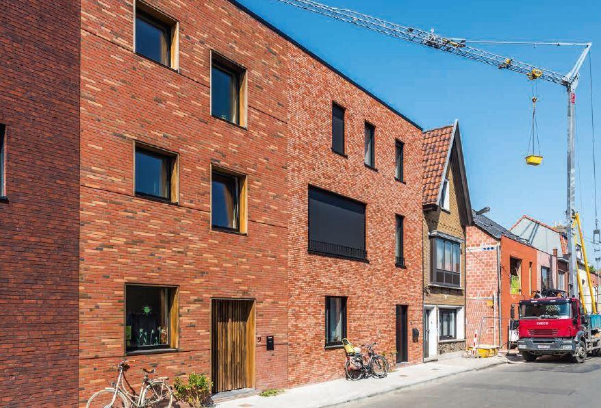 Gepersonaliseerde collectiviteit in Gents cohousingproject