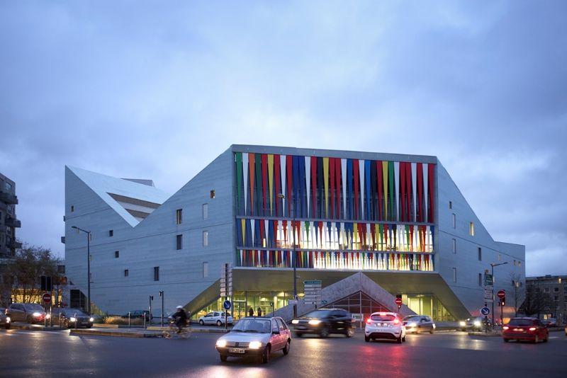 L'auberge de jeunesse de Lille, nominée dans la catégorie « Hôtel & tourism » (JDS Architects)