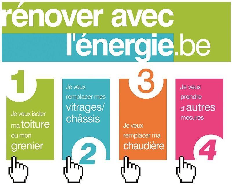 www.renoveraveclenergie.be : le guide en ligne pour les rénovations énergétiques