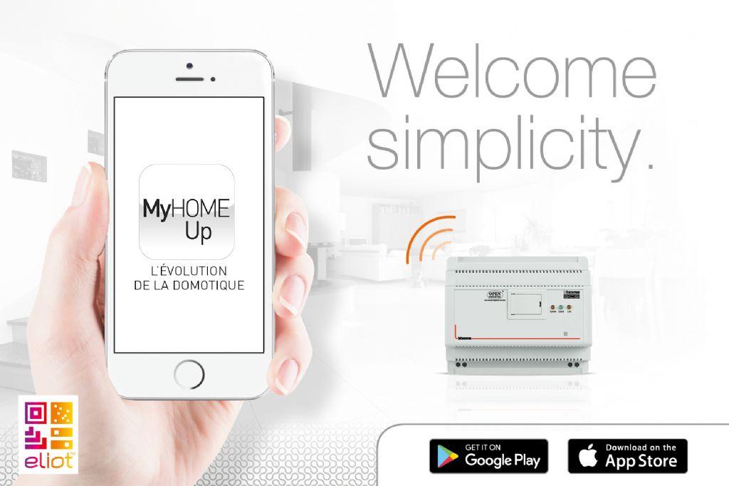 Back to basics avec la nouvelle application MyHOME_Up de BTicino
