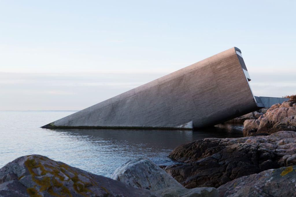 Snøhetta voltooit eerste onderwaterrestaurant van Europa