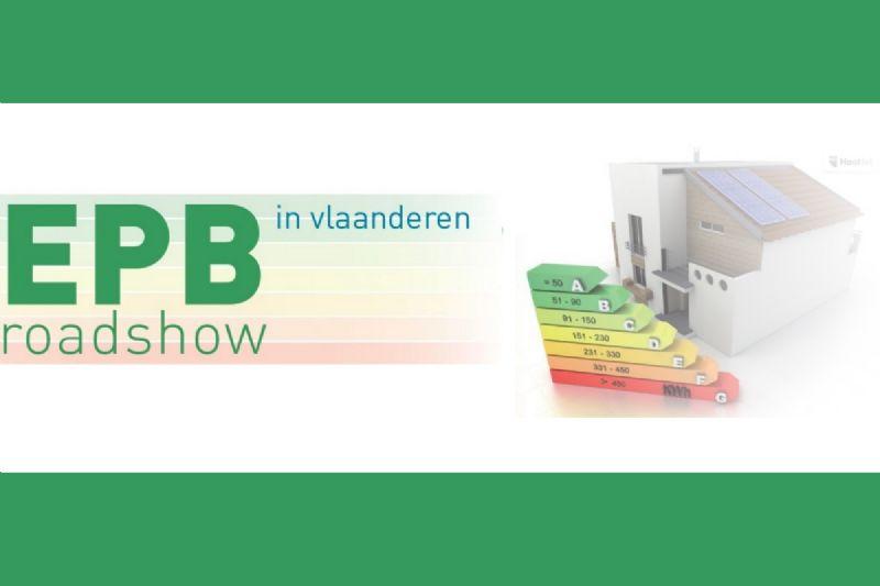 EPB-roadshow doet Vlaanderen aan