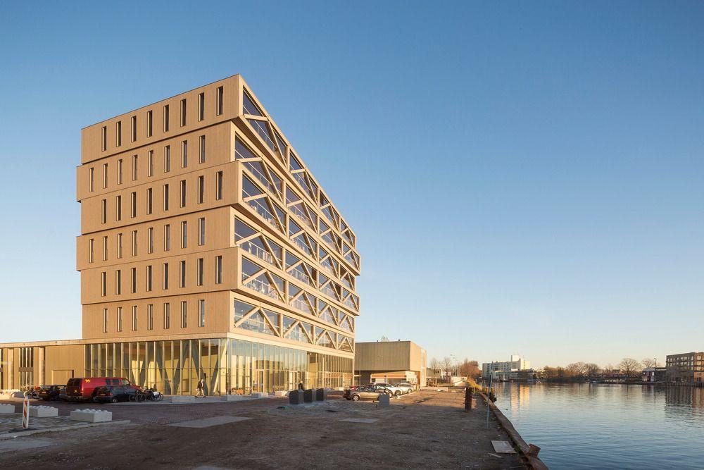 Patch22, le plus haut immeuble en bois des Pays-Bas