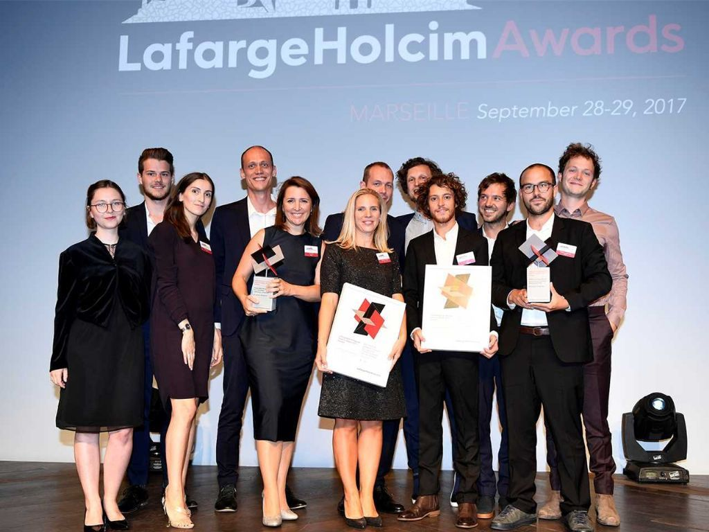 Winnaars LafargeHolcim Awards