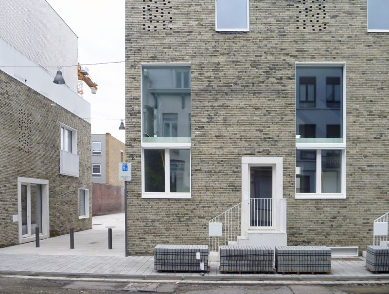 Nieuw leven voor Kostuumatelier in Antwerpen volgens passief bouwconcept