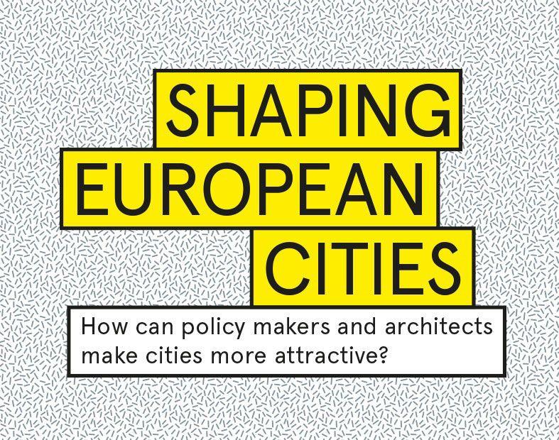 Het openingsevent behandelt het aantrekkelijker maken van steden.