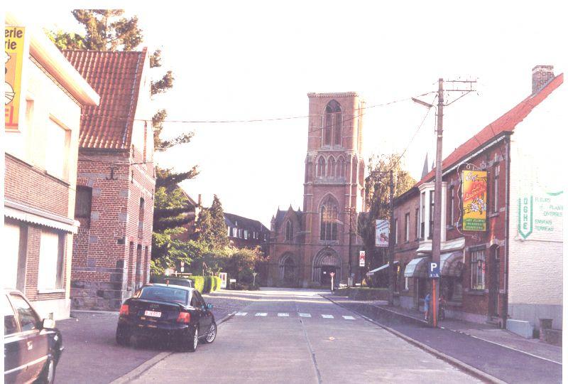 L'église Saint-Etienne de Templeuve, avant sa démolition
