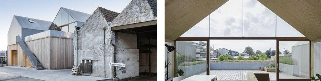 Inbreiding bij eengezinswoningen - Delmulle Delmulle - Ideeel Architecten